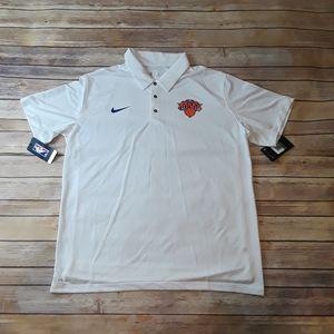 Nike NBA New York Knicks Polo Shirt